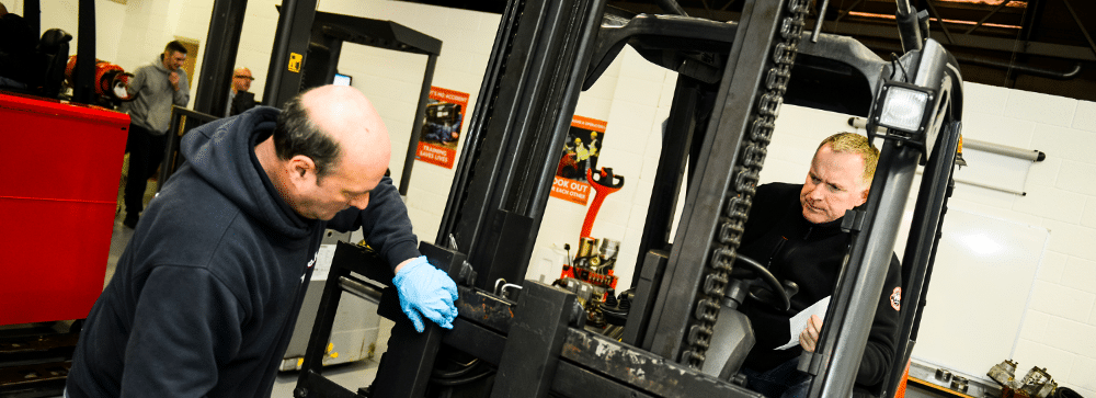 Forklift engineers training