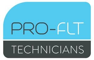 PRO-FLT Fork Lift Truck Professional Logo