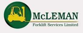 McLeman Forklift Trucks Logo