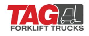 TAG Forklift Trucks logo