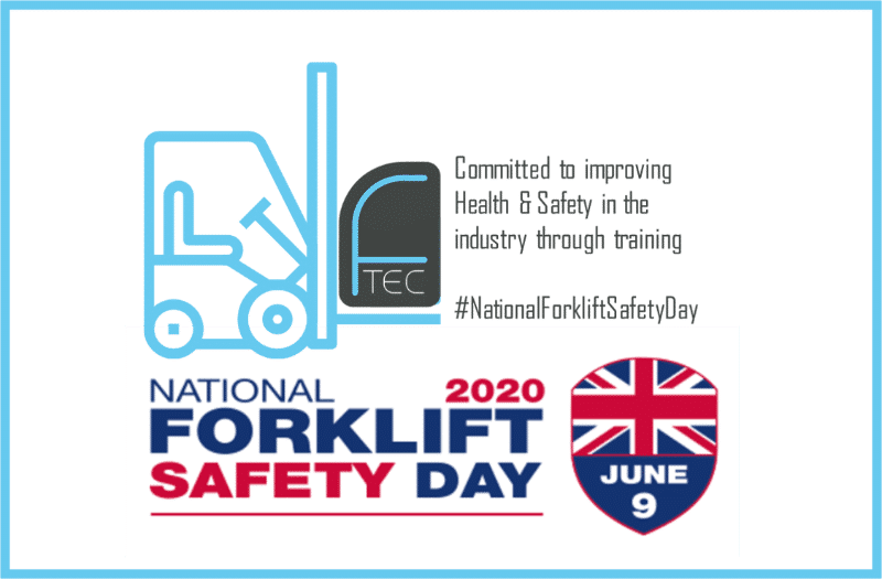 National Forklift Safety Day poster